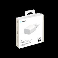 Сетевое зарядное устройство DEPPA USB Type-C, PD 20W