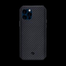 "Чехол Pitaka MagEZ Case Pro 2 для iPhone 12 / 12 Pro 6.1"", черно-серый, кевлар (арамид)"