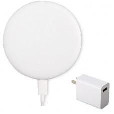 Беспроводное зарядное устройство Xiaomi Wireless Charger MDY-10-EP, 20W в комплекте с блоком питания и кабелем (GDS4106CN)