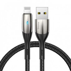 Usb Кабель Baseus Horizontal Data Cable(With An Indicator Lamp)USB For iP 1.5 A 2m Черный