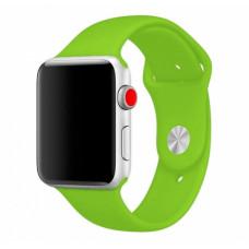 Салатовый ремешок для Apple Watch 38/40 mm Sport Band