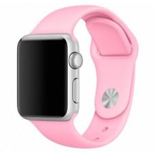 Нежно-розовый ремешок для Apple Watch 38/40 mm Sport Band