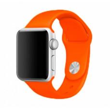 Оранжевый ремешок для Apple Watch 38/40 mm Sport Band