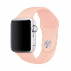 Персиковый ремешок для Apple Watch 38/40 mm Sport Band