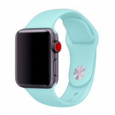 Небесно-голубой ремешок для Apple Watch 38/40 mm Sport Band