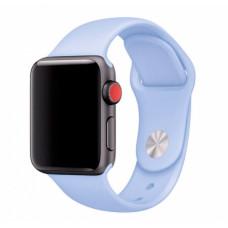 Васильковый ремешок для Apple Watch 38/40 mm Sport Band