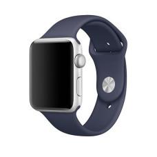 Силиконовый ремешок для Apple Watch (темно-синий) 38/40 мм