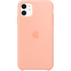 Чехол Apple для iPhone 11, силикон, «розовый грейпфрут»