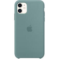 Чехол Apple для iPhone 11, силикон, «дикий кактус»