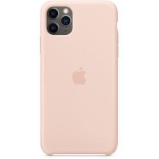 Чехол Apple для iPhone 11 Pro Max, силикон, «розовый песок»