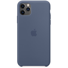 Чехол Apple для iPhone 11 Pro Max Silicone, «морской лёд»