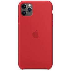 Чехол Apple для iPhone 11 Pro Max, силикон, (PRODUCT)RED