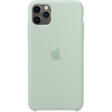 Чехол Apple для iPhone 11 Pro Max, силикон, «голубой берилл»