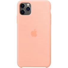 Чехол Apple для iPhone 11 Pro Max, силикон, «розовый грейпфрут»